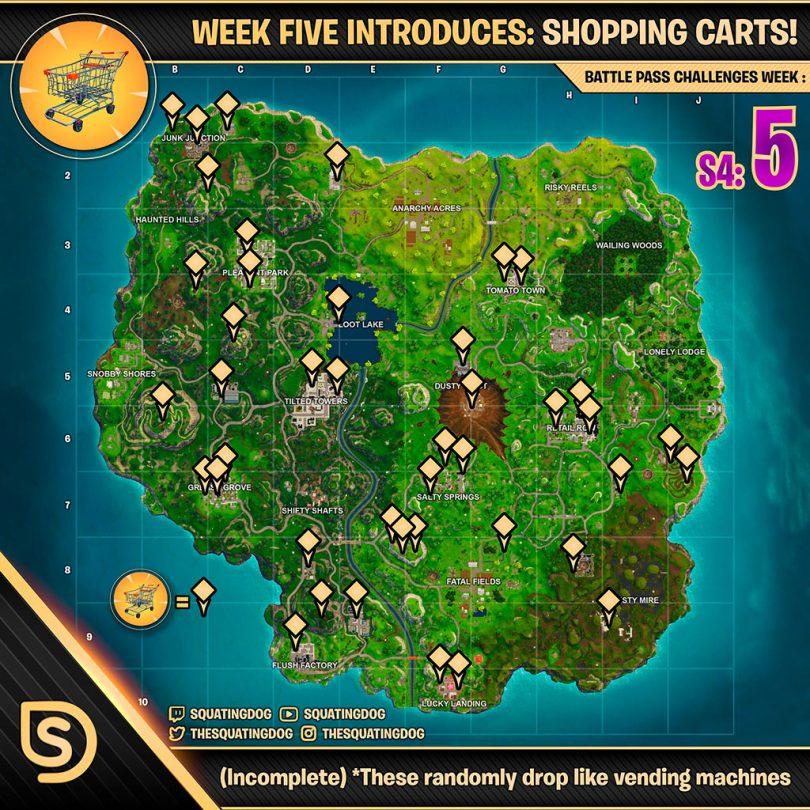 DeehVQ5UwAAI75G 810x810 - Fortnite Battle Royale: Desafíos para la Semana 5 de la Temporada 4