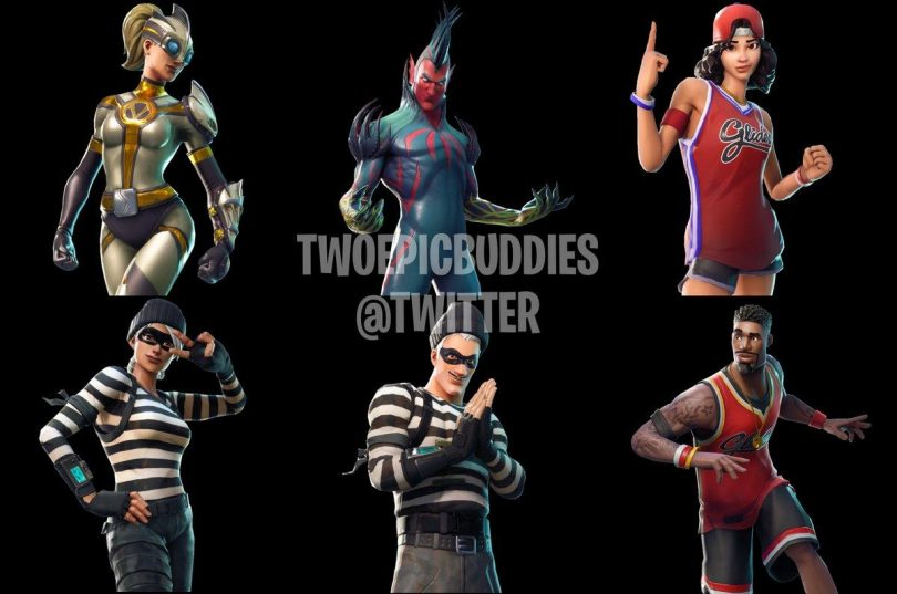 Fortnite New Skins Leaked 810x537 - Nuevos skins inéditos llegan a Fortnite Battle Royale v4.3.0