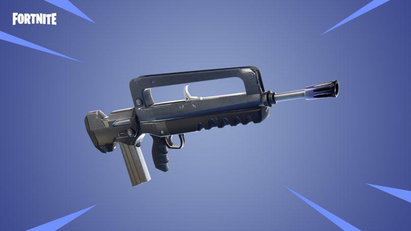 epic legendary burst assault rifle 810x456 - Todo lo que necesita saber sobre los nuevos rifles de asalto de Fortnite Battle Royale