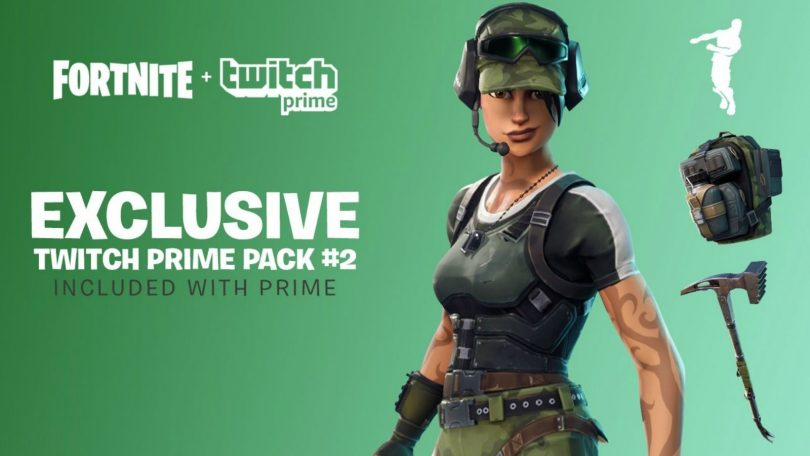 Guía de cómo reclamar el pack 2 de Twitch Prime para Fortnite Battle Royale
