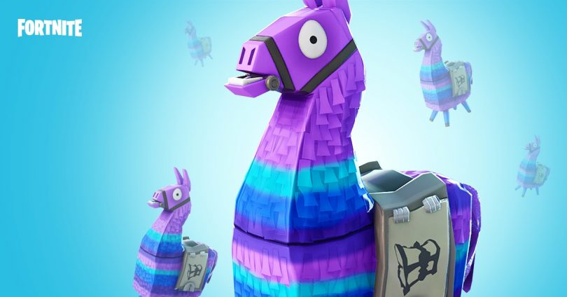 llamas 810x424 - Fortnite Battle Royale: nuevo modo limitado con fuego amigo y respawn