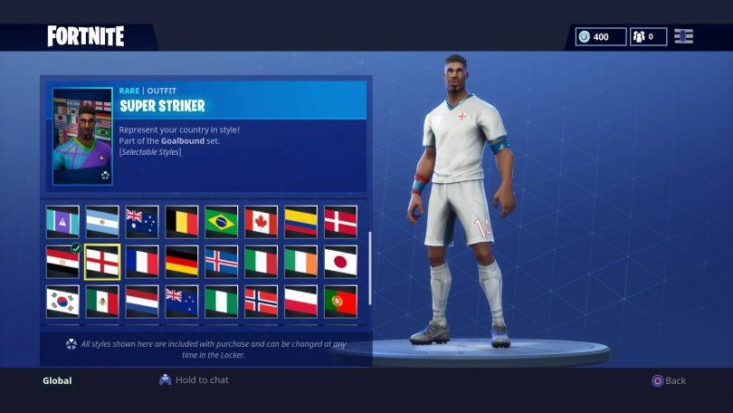 10 810x456 - Todas las 32 camisetas de fútbol en Fortnite - Galería completa