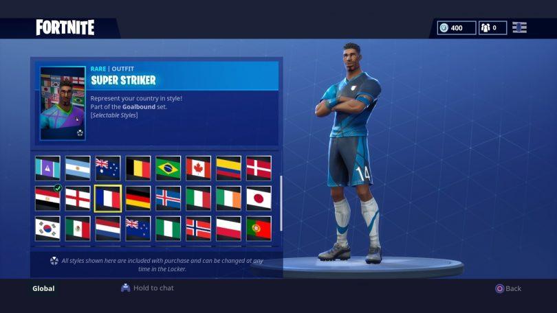 11 810x456 - Todas las 32 camisetas de fútbol en Fortnite - Galería completa