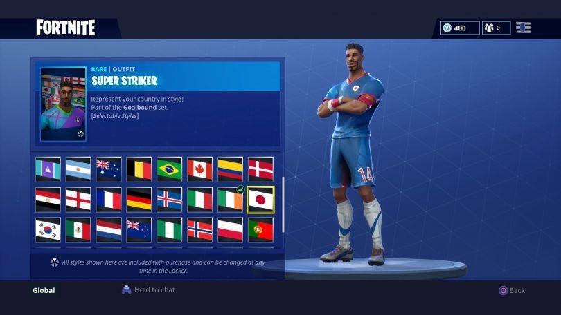 16 810x456 - Todas las 32 camisetas de fútbol en Fortnite - Galería completa