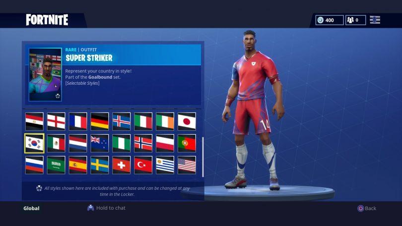 17 810x456 - Todas las 32 camisetas de fútbol en Fortnite - Galería completa