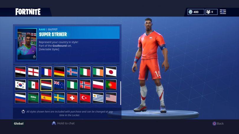 19 810x456 - Todas las 32 camisetas de fútbol en Fortnite - Galería completa