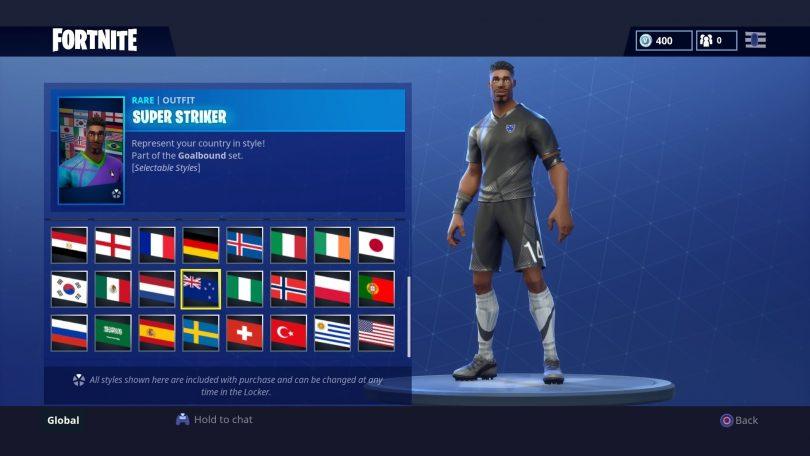 20 810x456 - Todas las 32 camisetas de fútbol en Fortnite - Galería completa