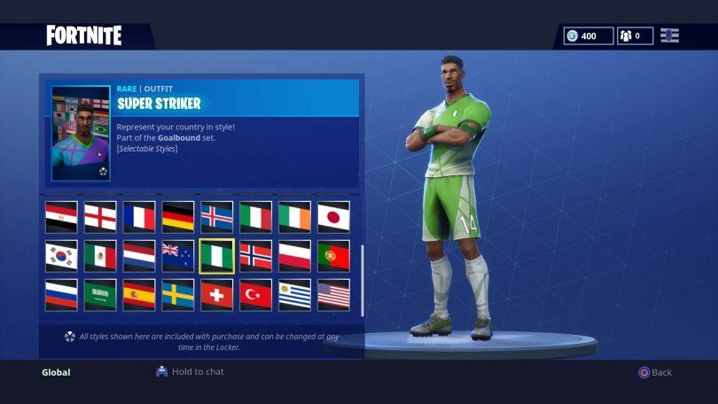 21 1 810x456 - Todas las 32 camisetas de fútbol en Fortnite - Galería completa