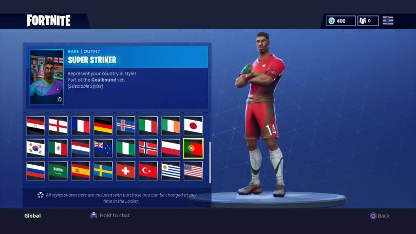 24 810x456 - Todas las 32 camisetas de fútbol en Fortnite - Galería completa