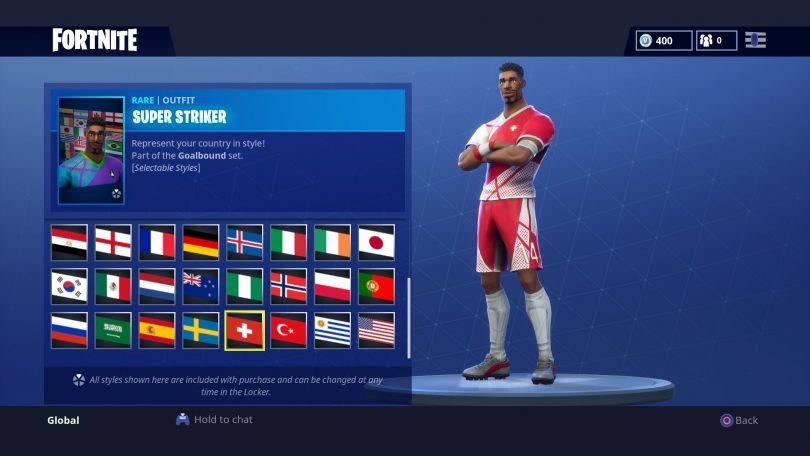 29 810x456 - Todas las 32 camisetas de fútbol en Fortnite - Galería completa