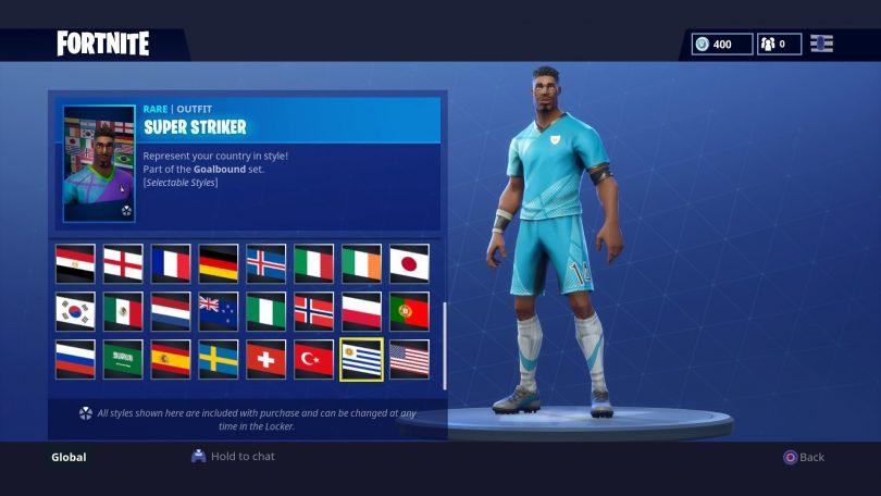 31 810x456 - Todas las 32 camisetas de fútbol en Fortnite - Galería completa