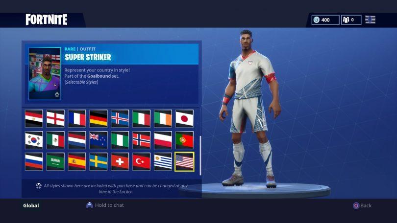 32 810x456 - Todas las 32 camisetas de fútbol en Fortnite - Galería completa