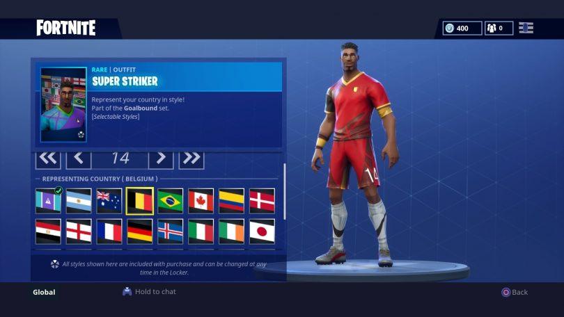 4 810x456 - Todas las 32 camisetas de fútbol en Fortnite - Galería completa
