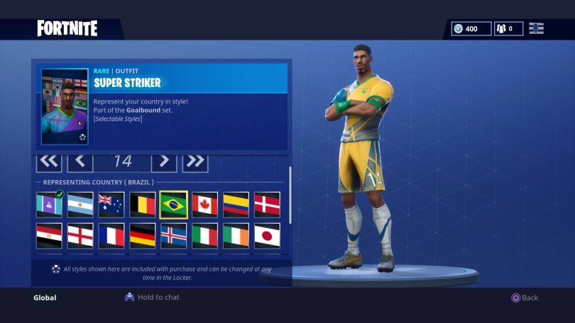 5 810x456 - Todas las 32 camisetas de fútbol en Fortnite - Galería completa