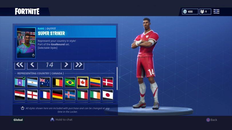 6 810x456 - Todas las 32 camisetas de fútbol en Fortnite - Galería completa