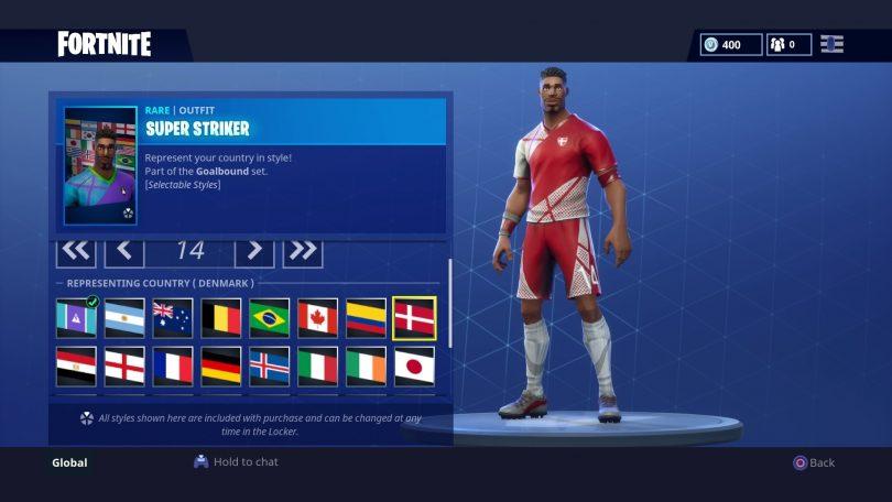 8 810x456 - Todas las 32 camisetas de fútbol en Fortnite - Galería completa