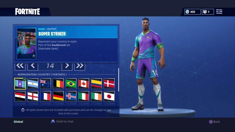 Fortnite 1 810x456 - Todas las 32 camisetas de fútbol en Fortnite - Galería completa