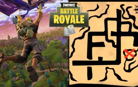 Fortnite Battle Royale – Sigue el mapa del tesoro encontrado en Pleasant Park