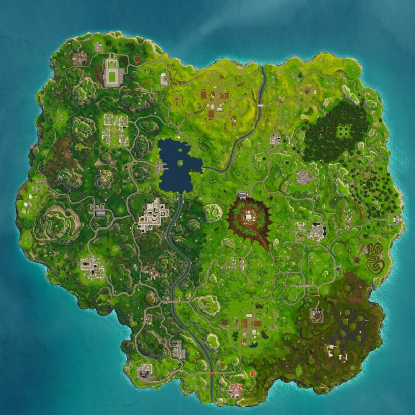 fortnite new map 810x810 - Imágenes filtradas muestran cambios importantes en el mapa de Fortnite Battle Royale