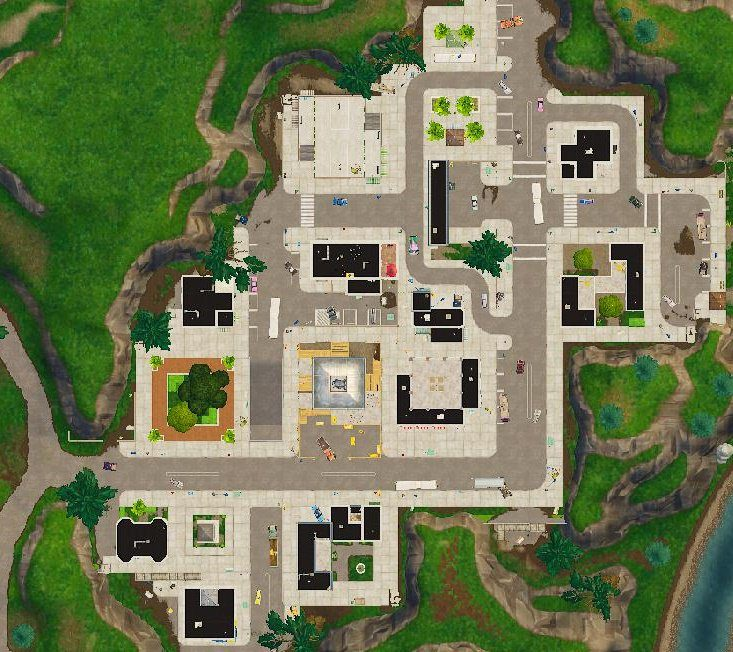 fortnite tilted towers change - Imágenes filtradas muestran cambios importantes en el mapa de Fortnite Battle Royale