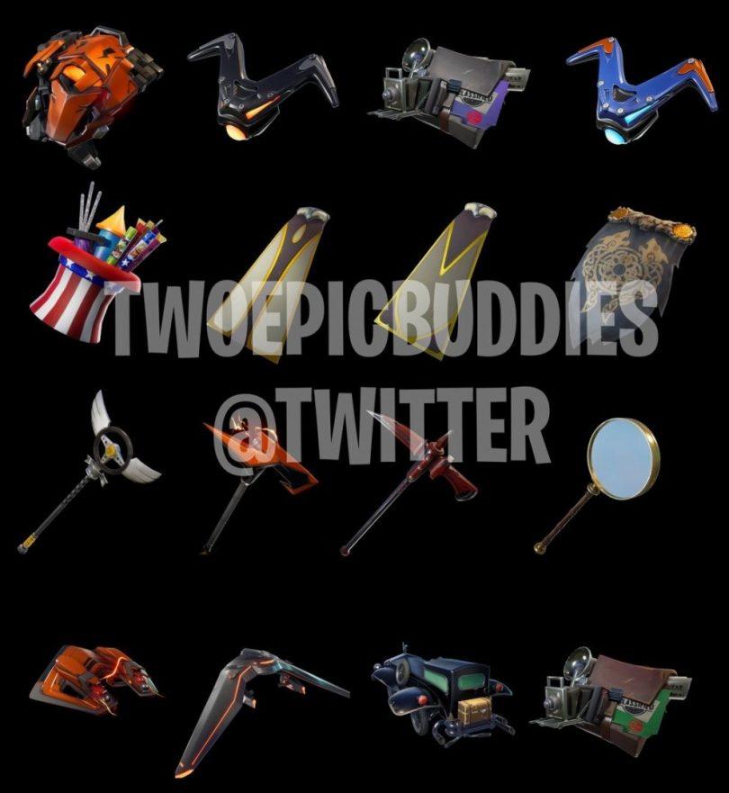 kjjgbhufuy 810x881 - Fortnite: nuevos skins detective, objetos y bailes que llegarán al juego