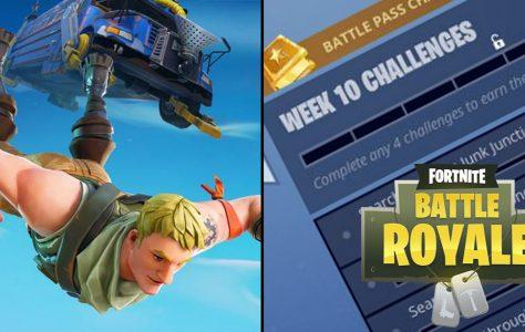 Los desafíos de Fortnite Battle Royale para la semana 10 de la temporada 4