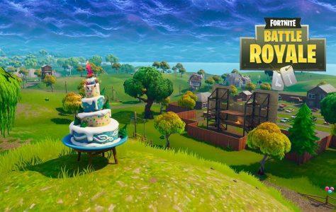 Todos los pasteles de cumpleaños – Desafío primer aniversario de Fortnite