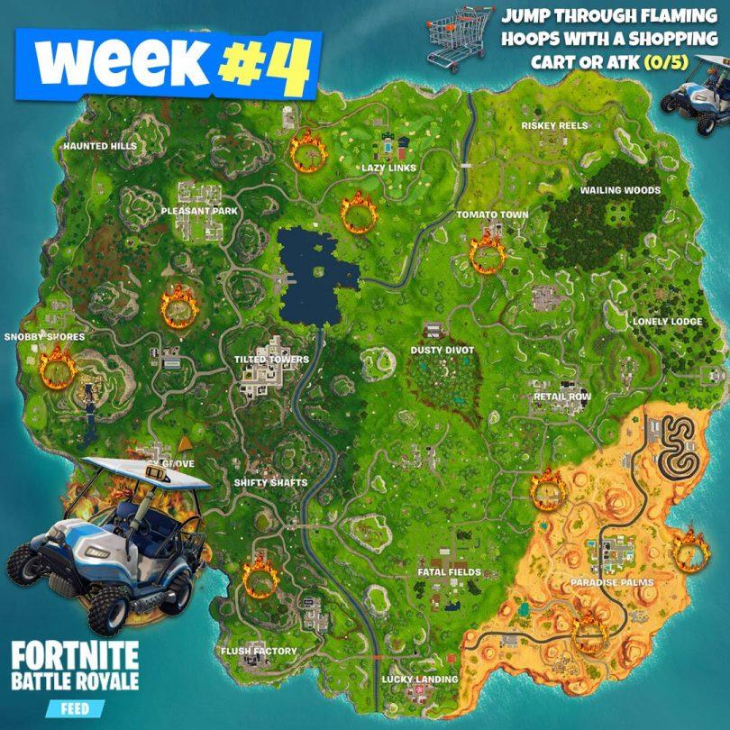 25gerojfmod11 810x810 - Ubicaciones para los Desafíos de Fortnite de la Semana 4, Temporada 5