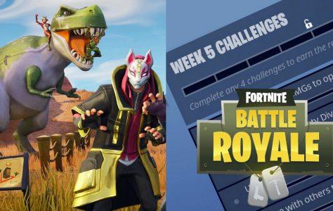 Todos los desafíos de Fortnite para la Semana 5 de la 5ª Temporada