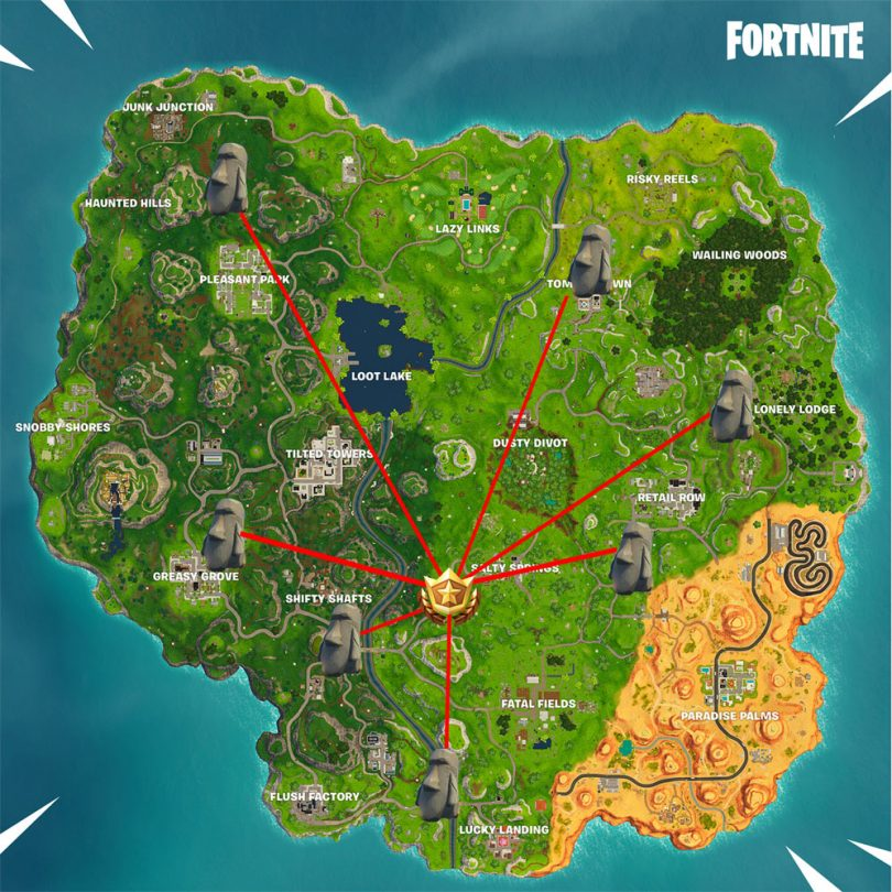 fortnite search where stone heads are looking battle pass star location 810x810 - Fortnite Battle Royale: Desafíos para la semana 6 de la temporada 5
