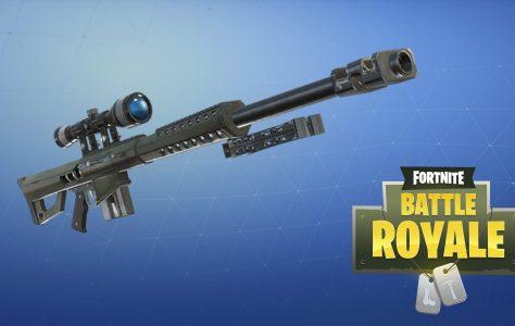 Epic confirma que el fusil de tirador pesado llegará pronto a Fortnite
