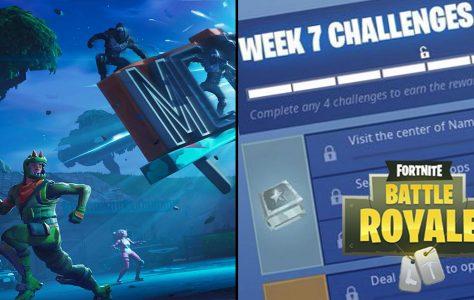 Aquí están los Desafíos Oficiales de Fortnite para la Semana 7 de la 5ª Temporada